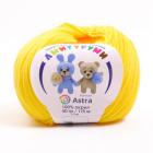 Пряжа Амигуруми (Astra), 50 г / 175 м, 104 жёлтый