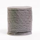 Шнур витой  5 мм (уп. 20 м) серебро С
