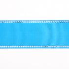 Лента репсовая 25 мм с люрексом (уп. 22,5 м)167 м.волна/серебро