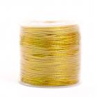Шнур декор. 2 мм (уп. 100 м) золото С