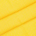 Ткань 48*50 см 120 г/м2 «Мелкий горошек» 100% хлопок 25736 желтый 541886