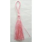 Кисти цветные для подушек розовый
