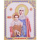 Ткань для вышивания бисером Благовест И-5058 Благодатное небо 13,5*17 см