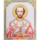 Ткань для вышивания бисером Благовест И-5197 Св. Иоан Златоуст 13*17 см