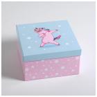 Коробка подарочная «Персонажи» 20*20 см 5294097