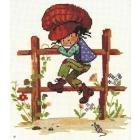 Набор для вышивания Нитекс 0154 «Том» 20*24 см