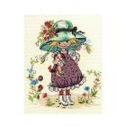 Набор для вышивания Нитекс 0156 «Карина» 20*24 см