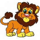 Набор для вышивания Нитекс 2123 «Лев» 22*32 см