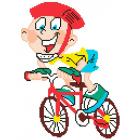 Набор для вышивания Нитекс 2410 «Велосипедист» 22*32 см
