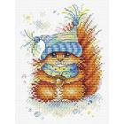 Набор для вышивания М.П.Студия М-395 «Морозный рыжик» 16*12 см