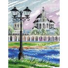 Набор для вышивания М.П.Студия М-444 «Великий Новгород» 17*22 см