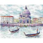 Набор для вышивания М.П.Студия М-522 «Дух Венеции» 18*22 см