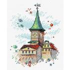 Набор для вышивания М.П.Студия М-564 «Крыши Таллина» 10*13 см