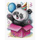 Набор для вышивания М.П.Студия М-598 «С днем рождения!» 14*18 см