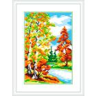Рисунок на канве М.П. Студия СК-042 «Осенний лес» 21*30 см