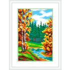Рисунок на канве М.П. Студия СК-043 «Краски осени» 21*30 см