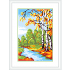Рисунок на канве М.П. Студия СК-045 «Последняя осень» 21*30 см