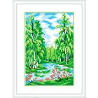 Рисунок на канве М.П. Студия СК-047 «Летнее раздолье» 21*30 см