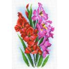 Рисунок на канве М.П. Студия СК-056 «Гордые гладиолусы» 30*40 см