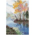 Набор для вышивания Овен №1322 «На озере» 20*31 см