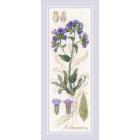 Набор для вышивания Риолис №1797 «Пульмонария» 10*30 см