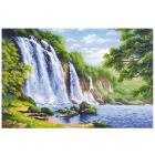 Набор для вышивания Риолис №1908 «Шум водопада» 40*60 см