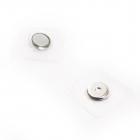 Магнит вшивной «Кнопка» 13 мм TBY.107844 уп. 2 части в блистере никель