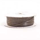 Лента атласная 3 мм (рул. 100 м)  двухсторонняя  №153 т. серый