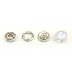 Кнопки «BABY»  9,5 мм (кольцо) (уп. 1440 шт.) белый
