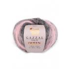 Пряжа Квин (Queen Gazzal ), 50 г / 100 м  2890 серо-розовый