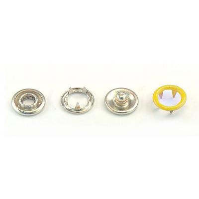 Кнопки «BABY»  9,5 мм (кольцо) (уп. 1440 шт.) желтый в интернет-магазине Швейпрофи.рф