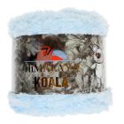 Пряжа Коала ( Koala Himalaya ) 100 гр-100 м  75718 св. голубой