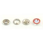 Кнопки «BABY»  9,5 мм (кольцо) (уп. 1440 шт.) красный