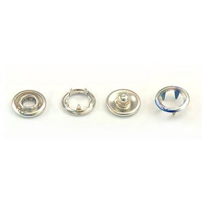 Кнопки «BABY»  9,5 мм (кольцо) (уп. 1440 шт.) никель в интернет-магазине Швейпрофи.рф