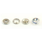 Кнопки «BABY»  9,5 мм (кольцо) (уп. 1440 шт.) никель