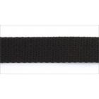 Тесьма 9 мм 06с3317 для вешалок уп. 50 м. черный