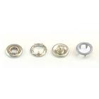 Кнопки «BABY»  9,5 мм (кольцо) (уп. 1440 шт.) серый