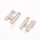 Застежка для бюстгальтера HJ-49 25 мм никель уп. 10 шт.