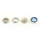 Кнопки «BABY»  9,5 мм (кольцо) (уп. 1440 шт.) синий