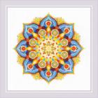 Набор для вышивания Риолис №1963 «Мандала Энергия» 20*20 см