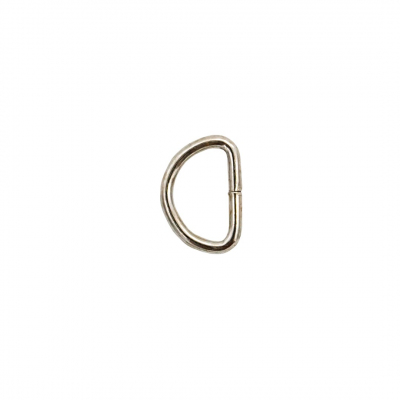 Полукольцо мини 27288 13*9 мм цв.серебро 554357 в интернет-магазине Швейпрофи.рф