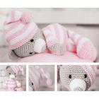 Набор мягкая игрушка (вязание) Амигуруми 2724094 «Сонный мишка Уолт» 26 см