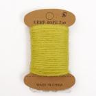 Джутовая веревка (уп. 10 м) жёлтый 7717519