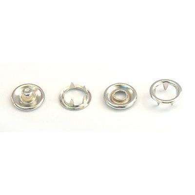 Кнопки «BABY» 10,5 мм (кольцо) (уп. 1440 шт.) никель нержавейка в интернет-магазине Швейпрофи.рф