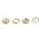 Кнопки «BABY» 10,5 мм (кольцо) (уп. 1440 шт.) никель нержавейка