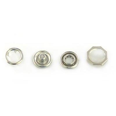 Кнопки «BABY» №4370 (уп. 1440 шт.) жемчуг в интернет-магазине Швейпрофи.рф