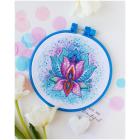 Набор для вышивания АБРИС АНМ-046 «Цветок счастья» 15*15 см