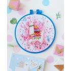 Набор для вышивания АБРИС АНМ-052 «Лама-лама» 15*15 см