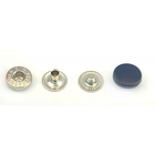 Кнопки 12,5 мм «альфа» (пластм. шляпка) т.-син. 7172