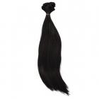Волосы для кукол (трессы) Элит В-100 см L-27 см 26494 брюнет 001 554557